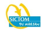 image-lien : logo du SICTOM du Marsan et lien vers site internet